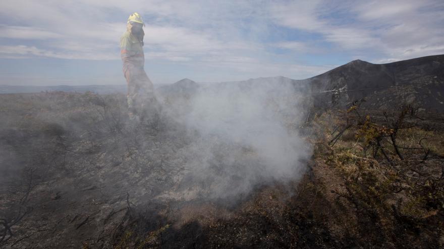 Incendio en Allande.