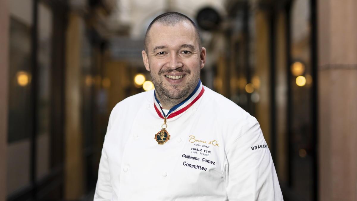 Guillaume Gómez, jefe de cocina del Elíseo.