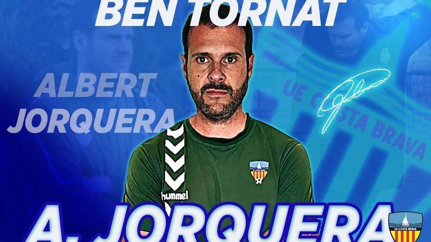 El Costa Brava reincorpora Albert Jorquera