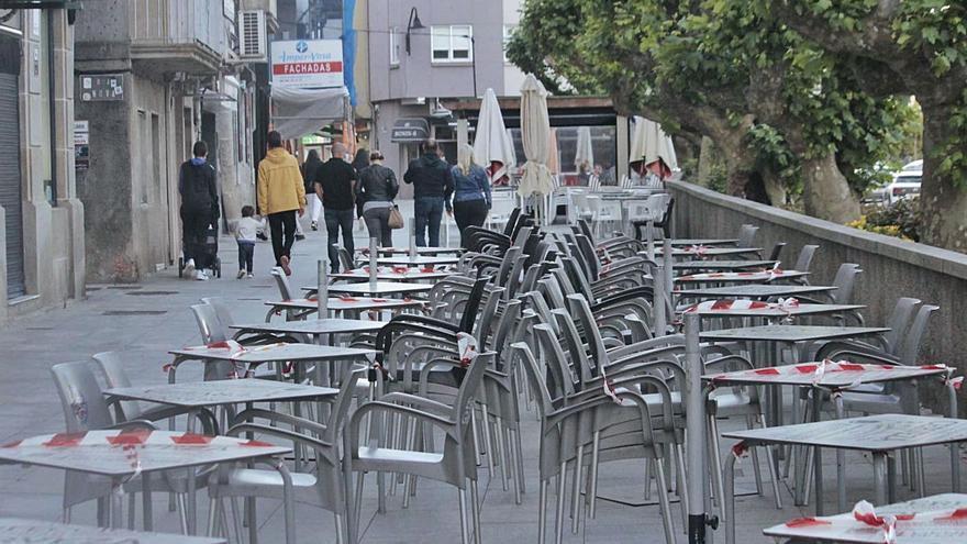 Cangas llega a 79 casos y Sanidad prevé que pase a nivel alto, con solo terrazas abiertas