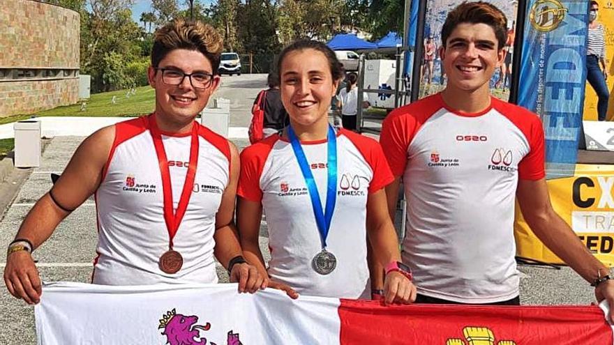 Hugo Hernández se cuelga un meritorio bronce en Málaga