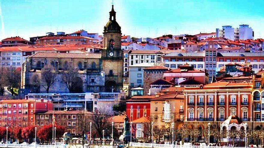 El prócer, con la nobleza de Bilbao