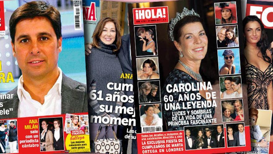 Carolina de Mónaco hace sombra a Marta Ortega
