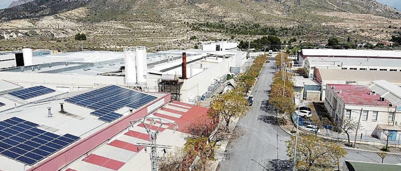 El polígono Campo Alto, en el municipio de Elda.