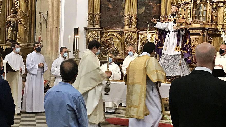 Una misa para honrar a san Agustín