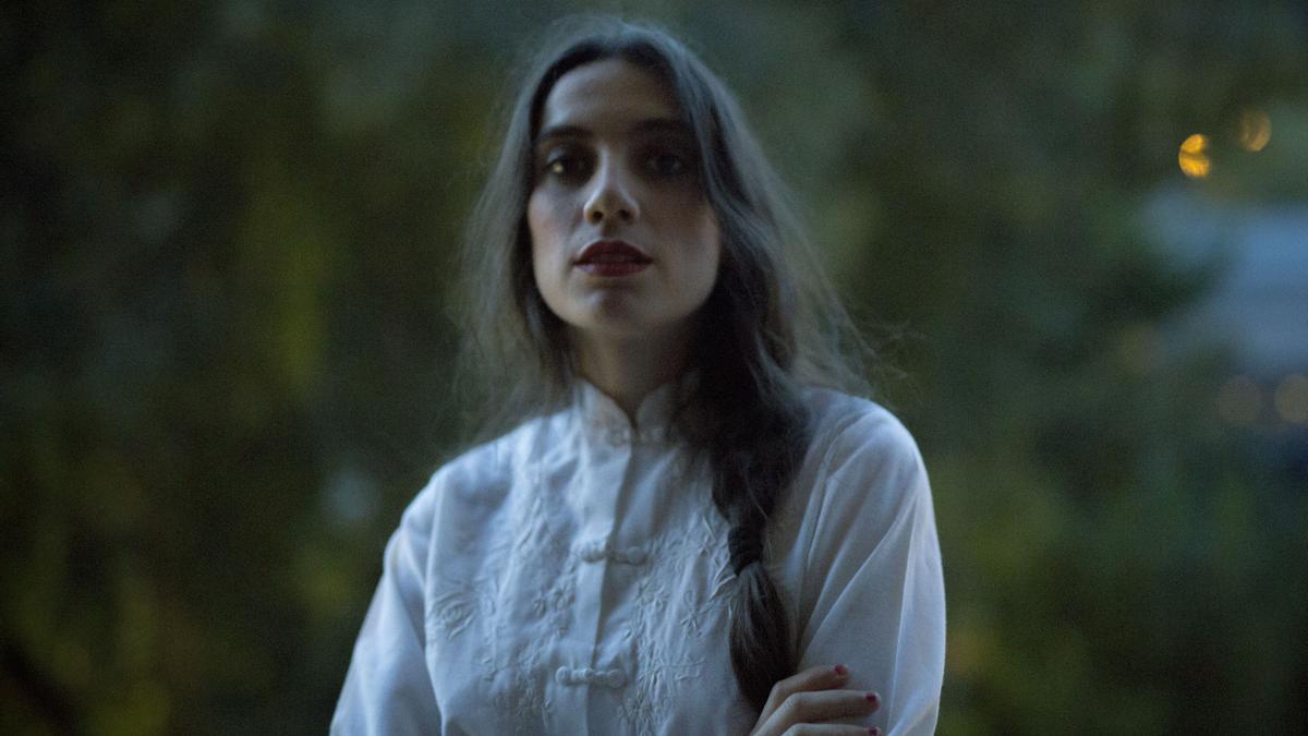 La actriz y poeta Juana Dolores Romero.