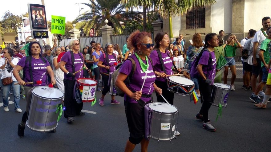 La Red Feminista de Gran Canaria convoca una protesta ruidosa y una manifestación digital contra la violencia machista