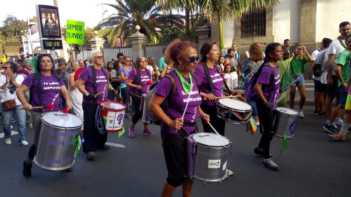 The Feminist Network of Gran Canaria calls a noisy protest and a digital demonstration against sexist violence