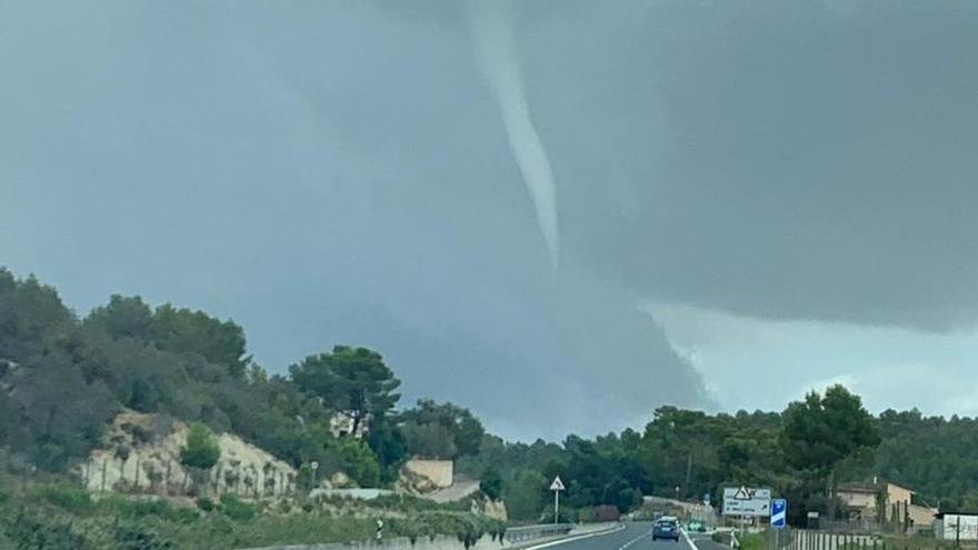 Un 'cap de fibló' atraviesa el Pla de Mallorca