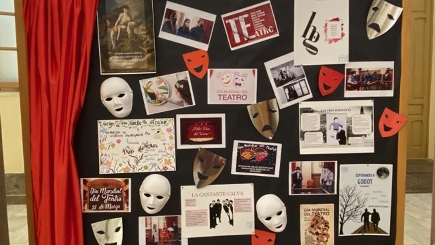 L'IES Francesc Ribalta commemora el Dia del teatre