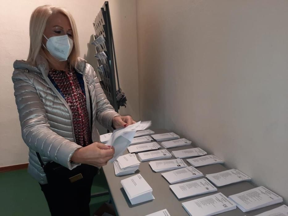 Votació dels candidats gironins a les eleccions c