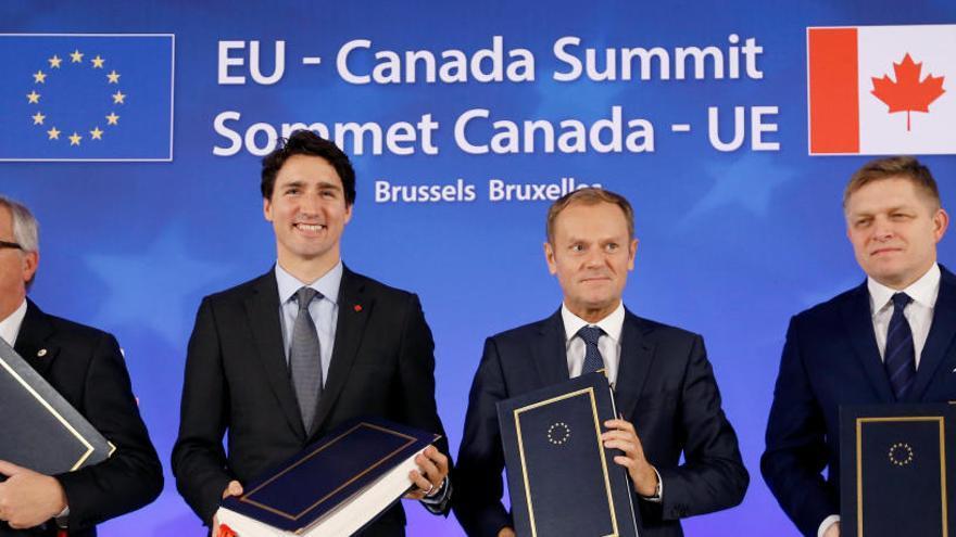 El polémico acuerdo 'CETA' entra este jueves en vigor