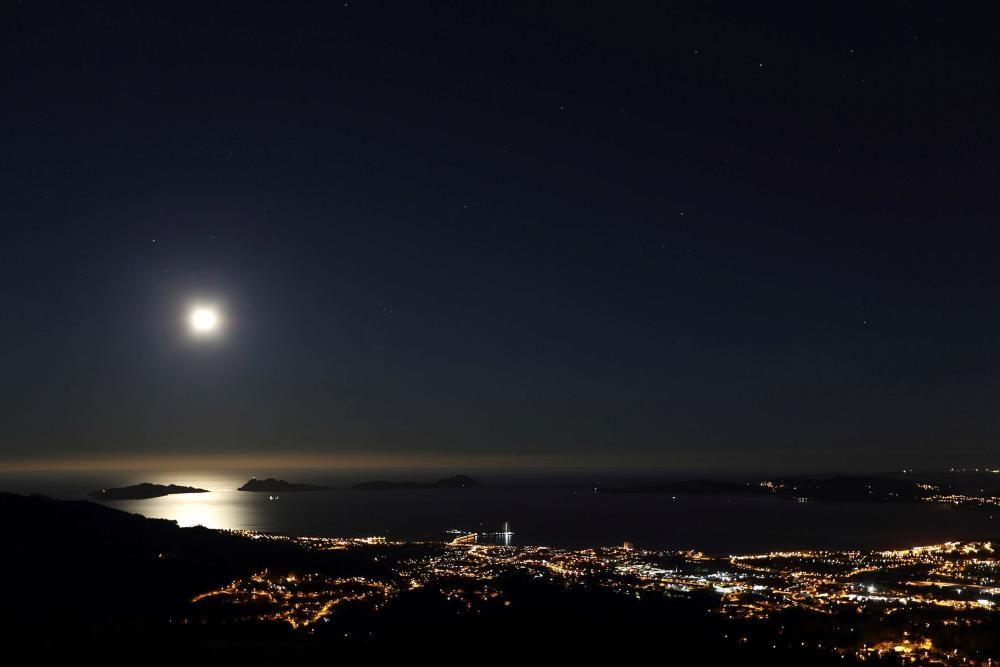 Luna más brillante de lo normal