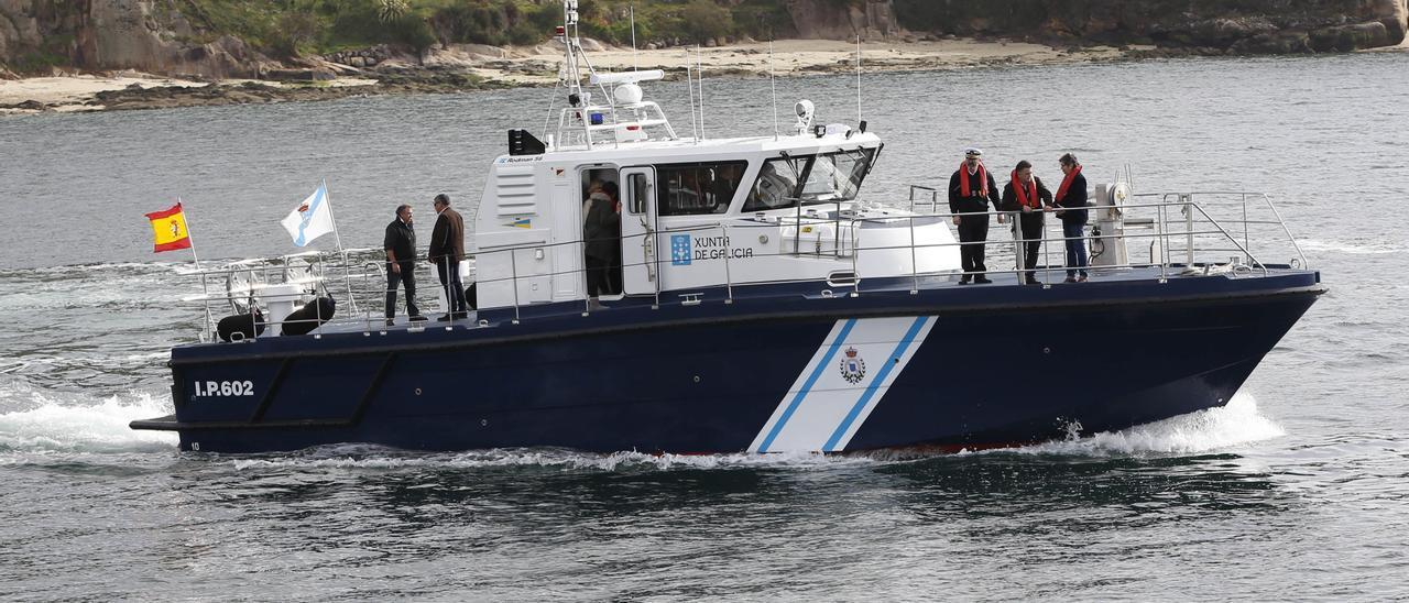 Una de las patrulleras ya construidas por Rodman Polyships.
