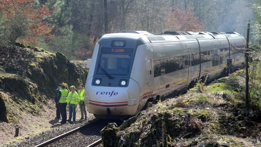 Destinan 8.577 nuevas traviesas de hormigón para el tramo ferroviario Catoira-Pontecesures