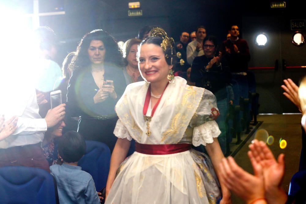 Acto de exaltación de Mónica Oltra como fallera mayor
