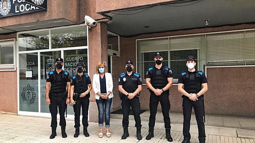 Principio de acuerdo para evitar la ausencia de policías en Redondela