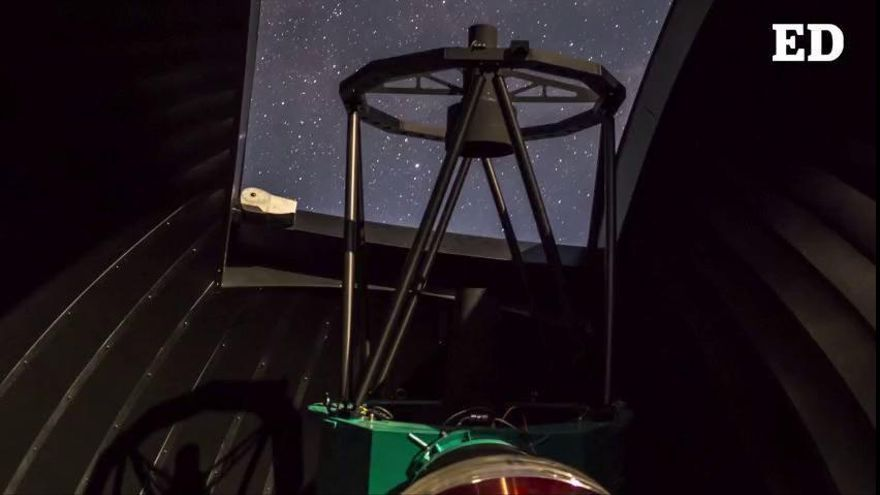 El Teide ya Tiene el 'ojo' para ver nuevos planetas Tierra