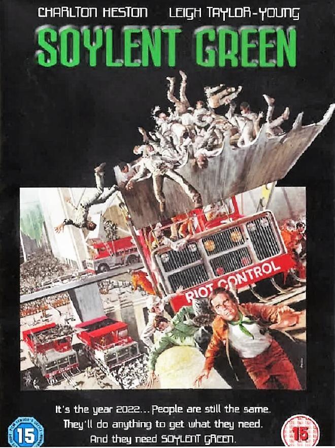 Carátula de la película Soylent Green