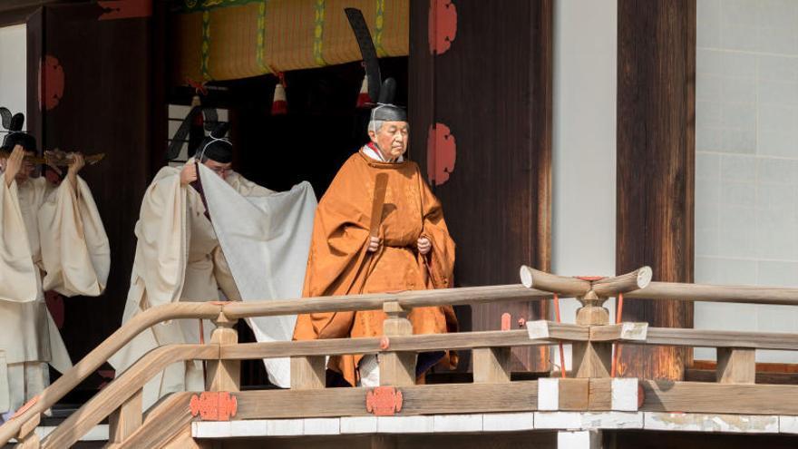 Akihito comienza los rituales para su sucesión