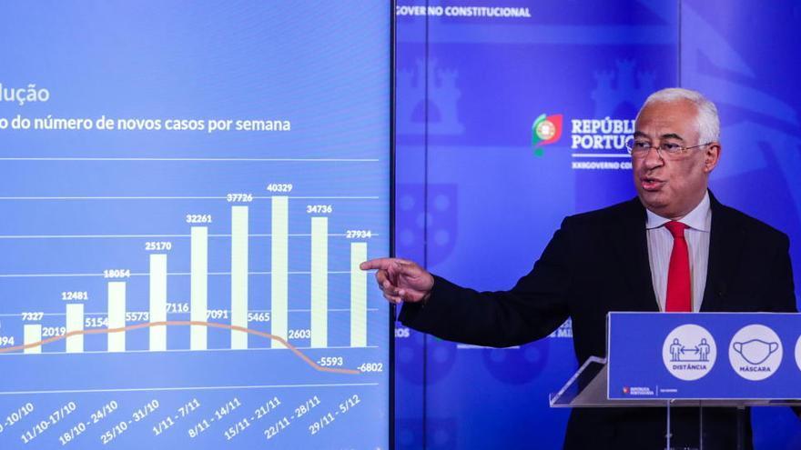 Portugal permitirá la movilidad de los ciudadanos en Navidad, pero no en Año Nuevo