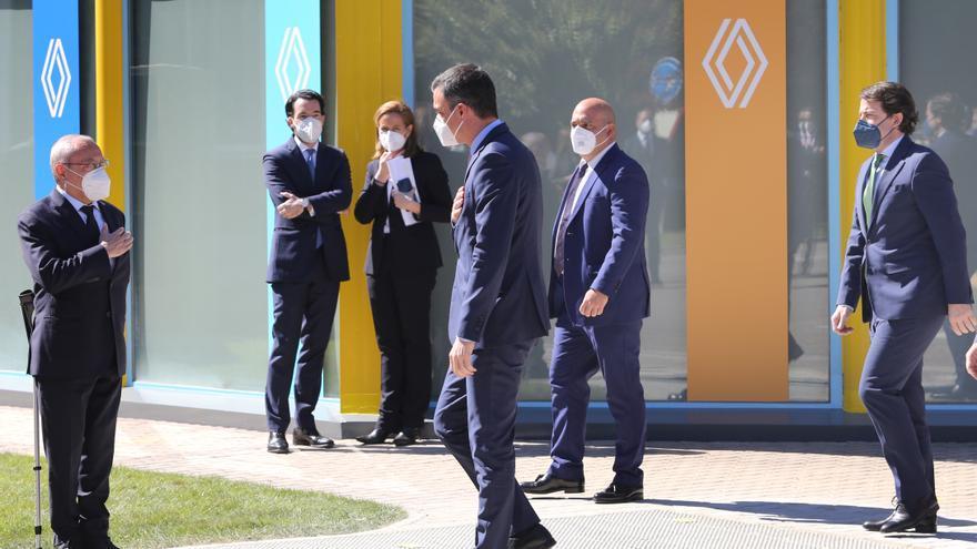 Así ha sido la visita del rey a la factoría de Renault en Palencia
