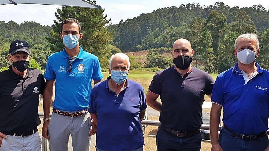 Aspronaga y el Miño Club de Golf realizan un torneo
