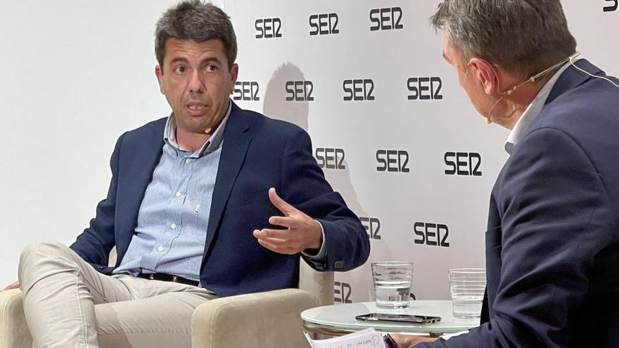 """Mazón apuesta por Catalá como candidata a la alcaldía e insta a una """"reivindicación"""" de la figura de Camps"""