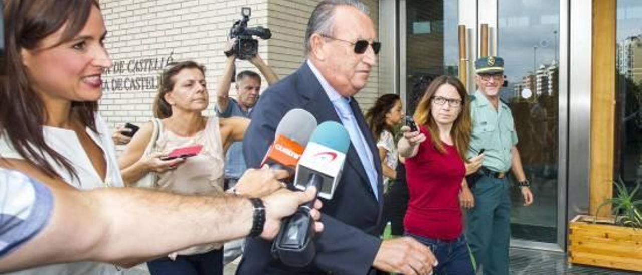 """La Audiencia podría ordenar la prisión de Fabra en 15 días por considerarlo """"ejemplarizante"""""""