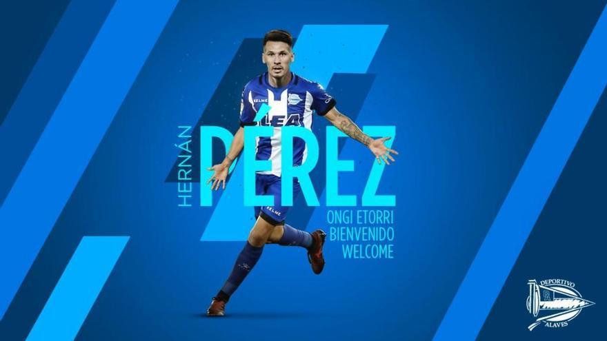 Hernán Pérez llega al Alavés cedido por el Espanyol