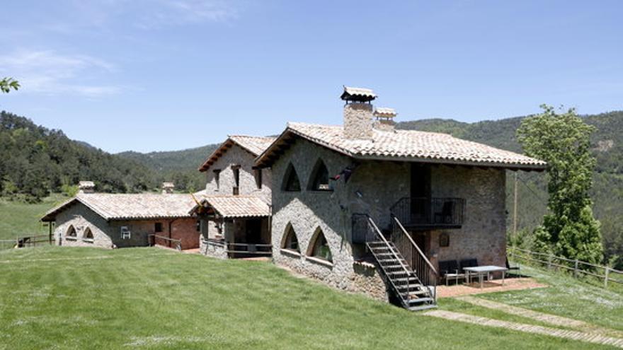 El turisme rural de la Catalunya Central preveuen una ocupació del 70% pel pont del Pilar