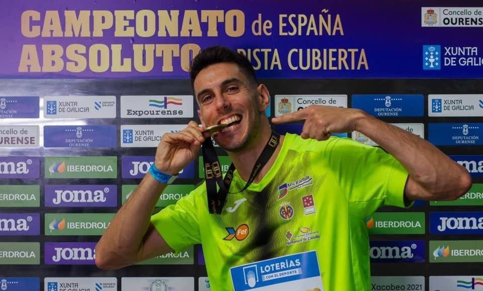 Pablo Torrijos, atletismo