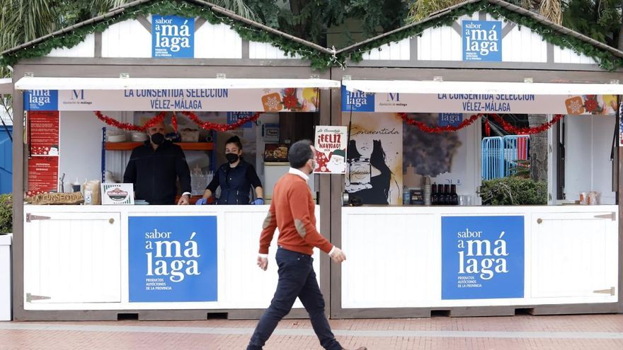 El Parque acoge el Gran Mercado Sabor a Málaga hasta el 8 de diciembre