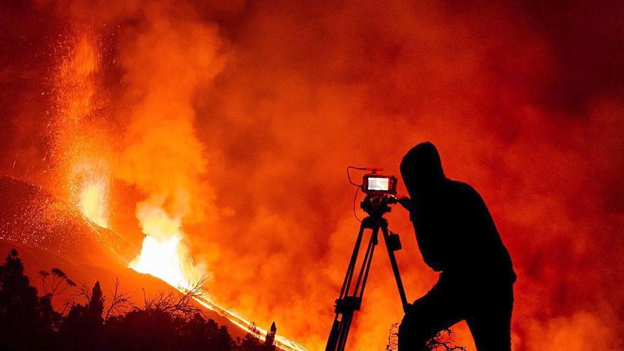Tajogaite, un volcán de película en La Palma
