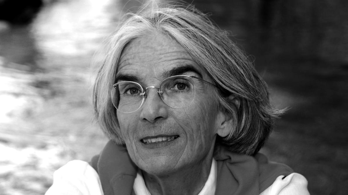 La escritora norteamericana Donna Leon.