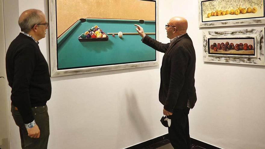 Las obras más eclécticas del artista Juan Gil, en la galería Espacio 36