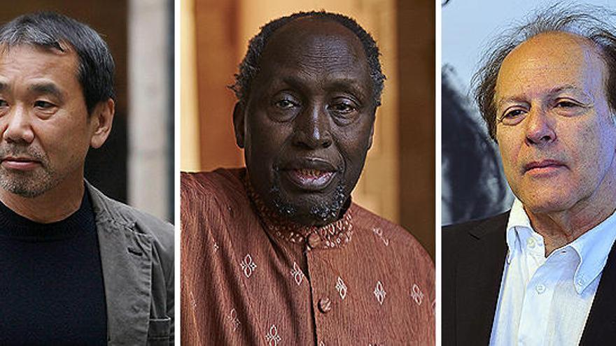 Murakami, Thiong'o o Javier Marías, entre los candidatos al Premio Nobel de Literatura