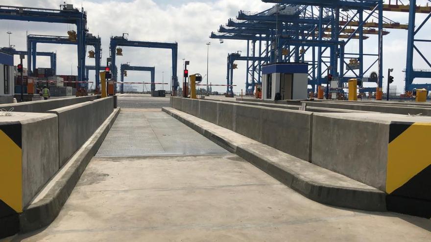 L'empresa Giropes instal·la 23 bàscules per a camions al port de Ghana, a l'Àfrica