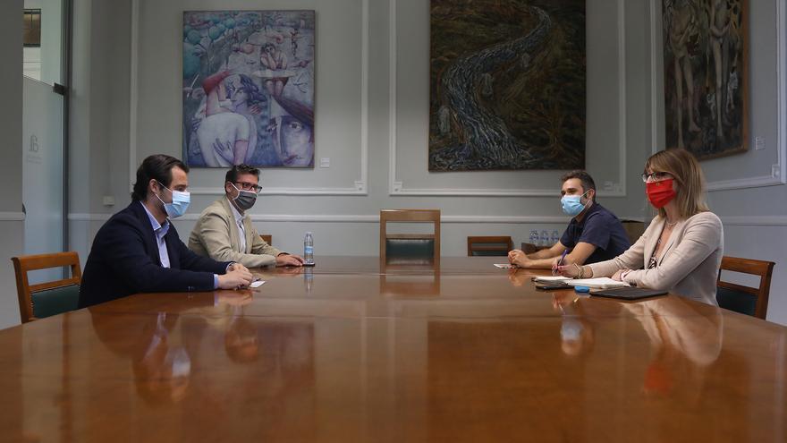 La tregua en la Diputación permite poner los cimientos de los presupuestos con un fondo social de cinco millones