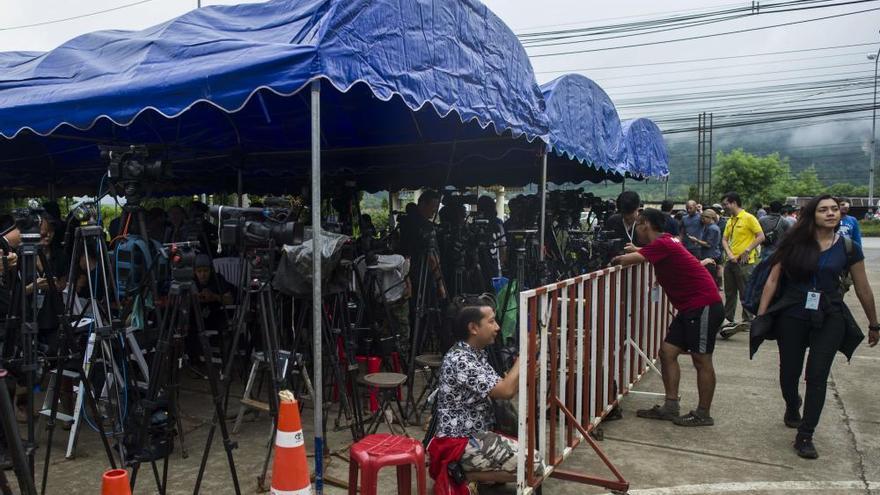 El rescate de los niños de Tailandia, en imágenes