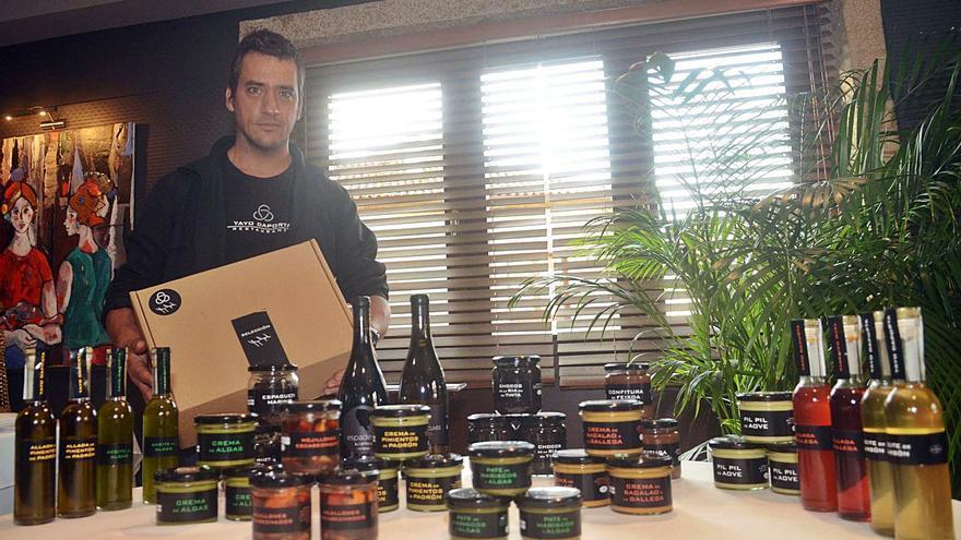 Yayo Daporta emprende el reto de llevar esta Navidad su cocina a los domicilios
