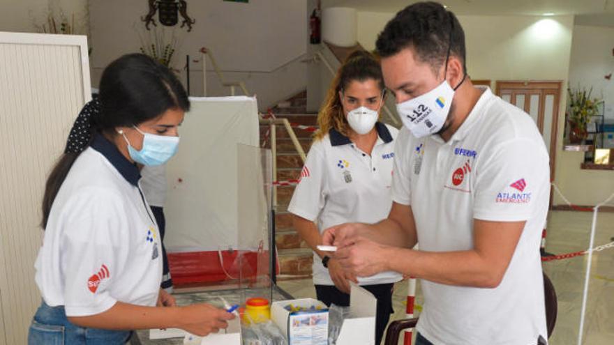 Gran Canaria reduce la incidencia de los contagios en un 30% en siete días