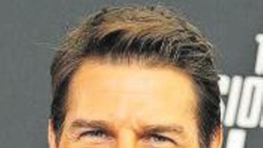 Tom Cruise irá al espacio el próximo año