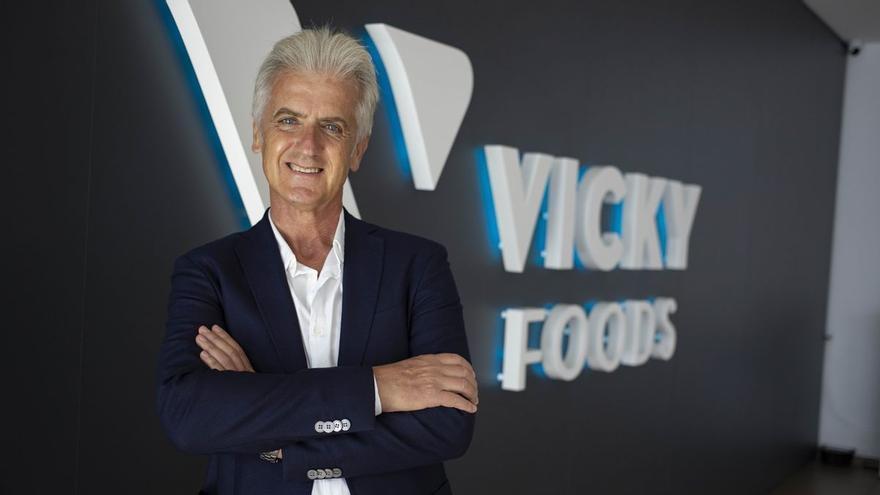 """Rafael Juan (Vicky Foods): """"El coste de la energía hará subir el precio de los alimentos"""""""