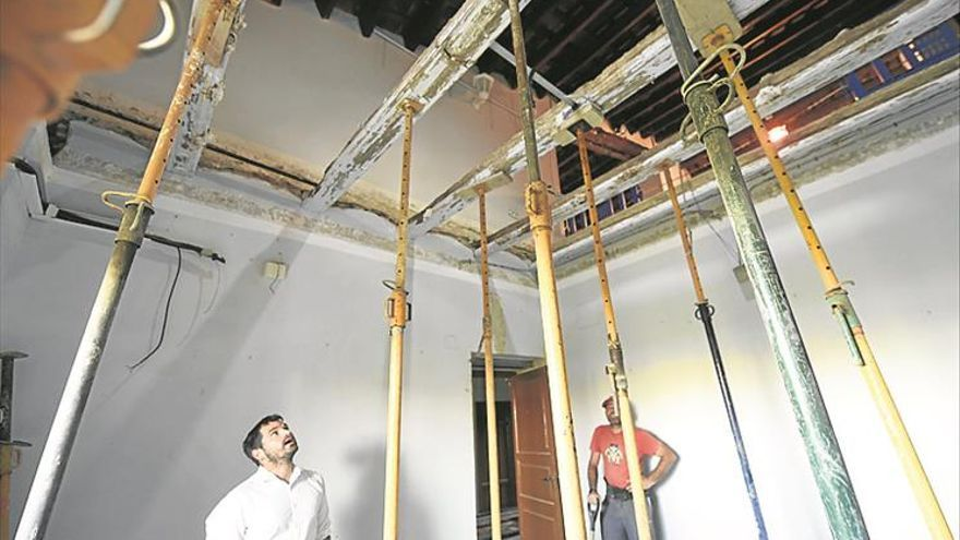 Rehabilitan la casa prioral de Lledó