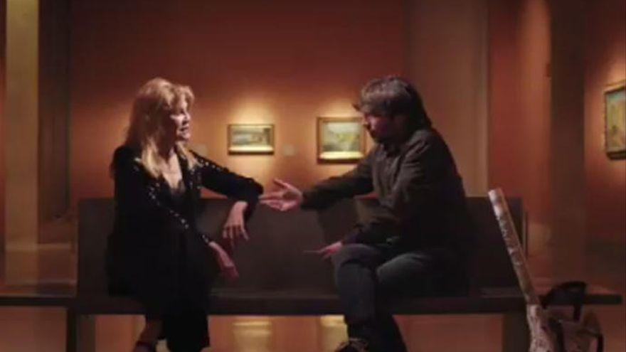 Tita Cervera, con Jordi Évole en 'Salvados'.