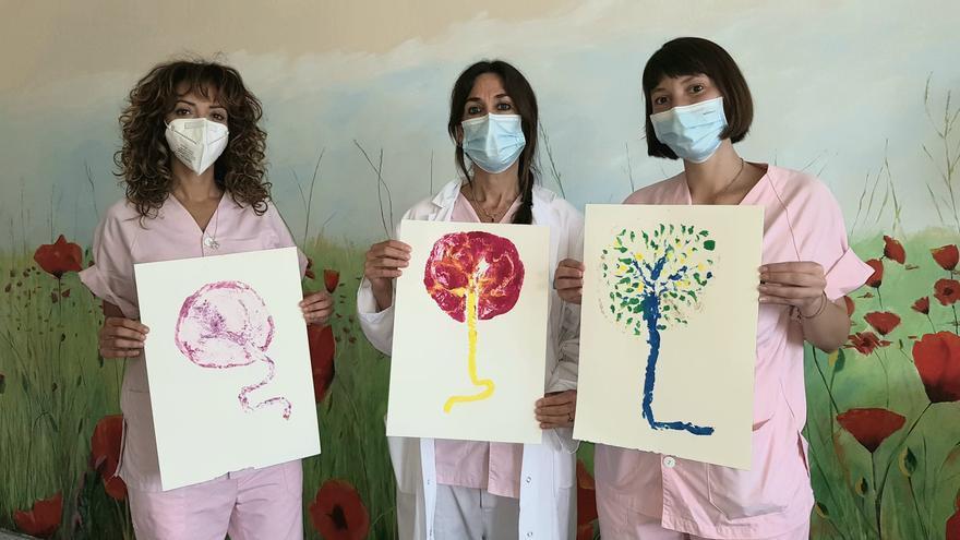 Arte que nace de la placenta