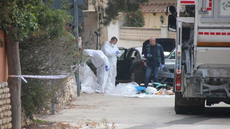 La mujer hallada muerta en un contenedor en Moraira presentaba signos de violencia