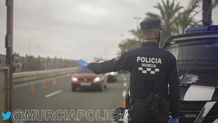 La Policía Local de Murcia pone 574 denuncias por no llevar mascarilla este fin de semana