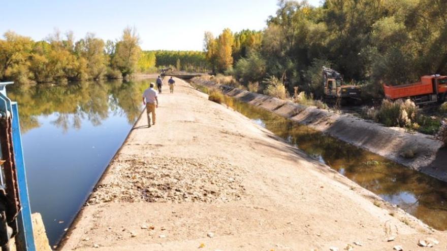 La demolición de barreras en el río Órbigo, elegida por el MITECO como ejemplo de adaptación al cambio climático